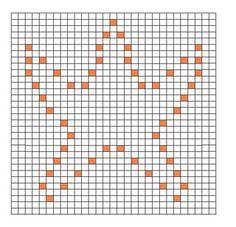 Ravelry: Star Fish Bobble Chart pattern by Kari Philpott