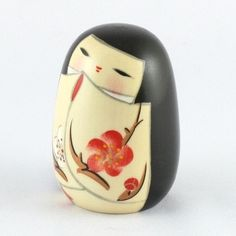 Kokeshi Doll Meditation (k12-3840)