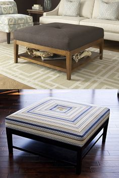 Braxton Culler - 5019-009 Taylor Ottoman with Button