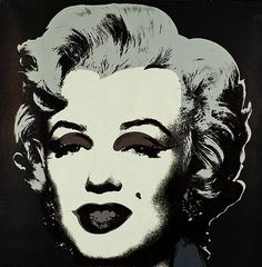 Marilyn Monroe 24 Marilyn Monroe 21 by Andy Warhol. Warhol began producing his Marilyn portraits shortly after her death in 1962. It has been said that Warhol created an icon out of an icon.
