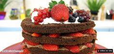 Bolo Estrogonofe de Chocolate com Morangos - Dia Dia - Daniel Bork