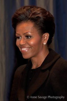 michelle+obama | First Lady Michelle Obama in Detroit – October 25, 2011 – PHOTOS ...