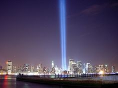 The Twin Towers of Light Memorial