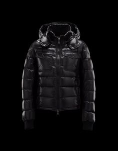 New! Moncler Mens FEDOR Featured Down Jackets Black [2781627] - £238.07 :