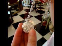 Bello reloj  vintage de plata 925 Antichoc Apex 17 rubis, viene con la cadena de plata para usarlo como colgante 😍 #vintage #antiques #pty #panama #calle56 #obarrio #regalos #joyeria