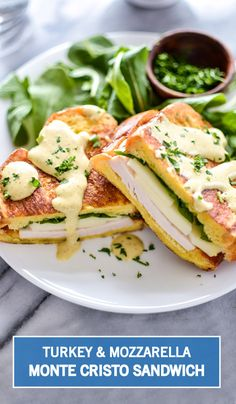Your favorite sweet and savory flavor combination shines in this recipe for a Turkey and Mozzarella Monte Cristo Sandwich. Ready in just 30 minutes, this golden-brown dish is even better when drizzled with a maple mustard sauce!