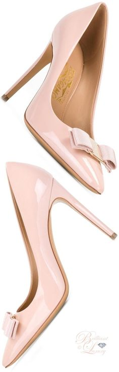 Brilliant Luxury ♦ Salvatore Ferragamo 'Emy' Pump