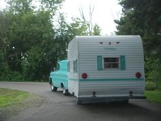 Wandering Wisconsin: Vintage Camping Trailer