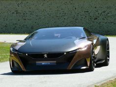 Peugeot Onyx Concept. Sadly being a Peugeot it brakes down after 5 mins. Looks good though.