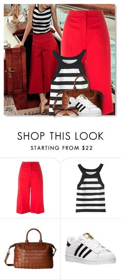 """""""60-Second Style"""" by breathing-style ❤ liked on Polyvore featuring MSGM, WithChic, Gabriella Rocha, adidas and River Island"""