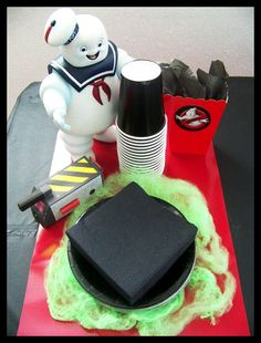 Ghostbusters Theme Birthday Party