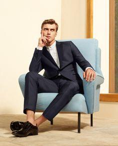 527804c08916b De Fursac - Collection Printemps-été 2014 - Look 24 Style Homme, Mode  Masculine
