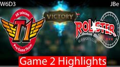 SKT vs KT Game 2 Highlights W6D3