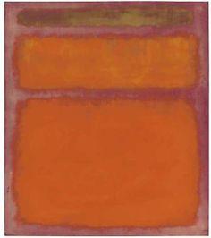 """Mark Rothko's 1961 painting """"Orange, Red, Yellow"""""""