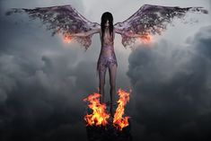 Angel, Dark, Dark Angel, Evil