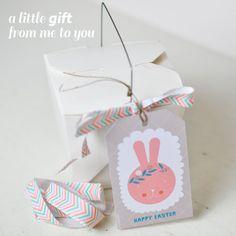 #Easter #freebie #gift #tags - by PinkNounou