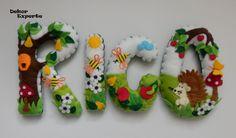 Namensketten - 3D Buchstaben für Namenskette Girlande ab 10€/Stk - ein Designerstück von DekorExperte bei DaWanda