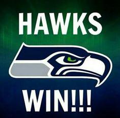 Seattle Seahawks Win!!!