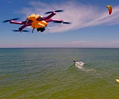 AirDog Auto-Follow Drone for GoPro | DudeIWantThat.com, I want this to follow me at my desk while I engineer stuff