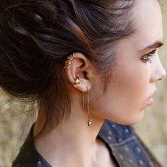 Piercing d'oreille : 20 idées pour ne pas se rater - Grazia.fr