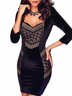 Backless Alluring Sweetheart Bodycon Dress