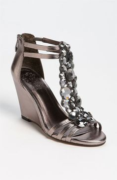 Although a wedge I'm thinking the jewels add enough 'dressy' these might be an option as my bridesmaid shoe.
