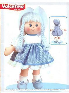 o te doy la Bienvenida Jeannine ...SIGUENOS EN FACEBOOK :) :) sin ti mi blog esta incomplet Doll Crafts, Diy Doll, Doll Clothes Patterns, Doll Patterns, Puppet Tutorial, Sewing Toys, Doll Hair, Soft Dolls, Soft Sculpture