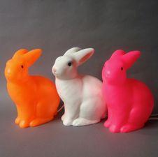 Neon bunnies
