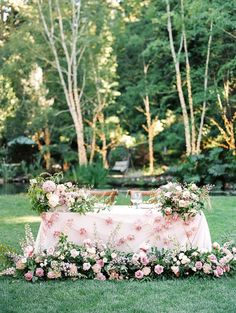 Fairytale Forest Wedding with a Pastel Pink Color Palette dresses pink colored Fairytale Forest Wedding with Florals Galore ⋆ Ruffled wedding colors Pastel Pink Weddings, Purple Wedding Flowers, Bridesmaid Flowers, Wedding Bridesmaid Dresses, Wedding Bouquets, Yellow Weddings, Wedding Reception Program, Outdoor Wedding Reception, Table Wedding