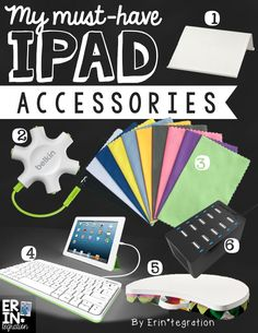 Must-have iPad accessories for the elementary classroom. 1:1, single iPad, and BYOD teachers will want to check out these recommendations.