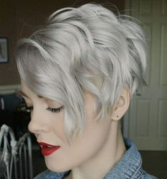 growing out that pixie!  trying for some style ...