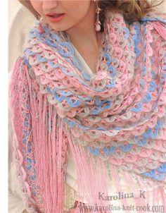 Dreiecktuch häkeln - crochet pattern