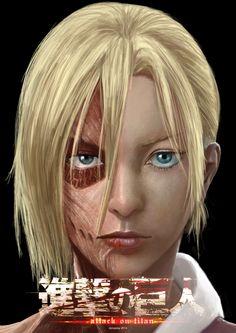 Attack on Titan | Shingeki no Kyojin - Annie Leonhart