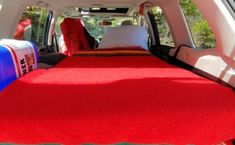 SUV Sleeping Platform Camper Conversion for Subaru Forester School Bus Camper, School Bus House, Van Conversion Hacks, Bus Conversion, West Hollywood Apartment, Camper Stove, Minivan Camper Conversion, Life Before You, Container House Design