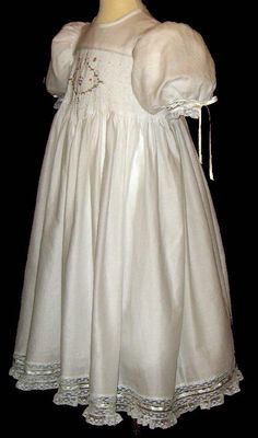 Hand Smocked - Flower Girl Dress -Zoila