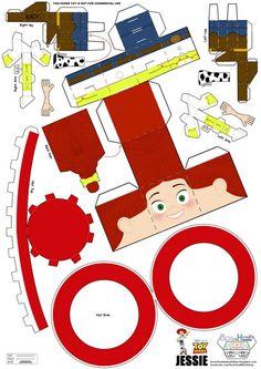 jessie toy story paper toy
