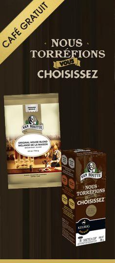 Vite, vite, café Van Houtte GRATUIT !  http://rienquedugratuit.ca/nourriture/cafe-van-houtte-gratuit/
