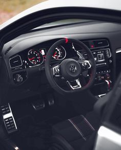 Pinalloy Black Steering Paddle Shifter Extension for VW Golf MK7 Scirocco GTi R