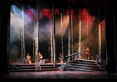Into the Woods. Indiana University. Scenic design by Christopher Rhoton.