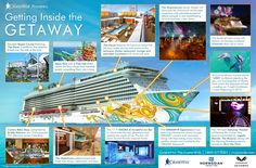 NCL Norwegian Getaway cruise ship reviews > pictures > deck plans > itinerary.