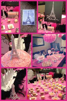 Paris themed Birthday