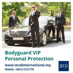 Looking for VIP and personal bodyguard protection services in Malaysia? MVD International is a leading security agency in Malaysia that provides professional bodyguards for VIP personal protection. Contact at 7866 0071 Event Security, Security Guard, Conflict Management, Event Management, Personal Assistant Duties, Bodyguard Services, Close Protection, Executive Protection, Emergency Response Team