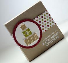 Stampin' UP! - Verpackung - Box - Envelope Punch Board - Wishing you