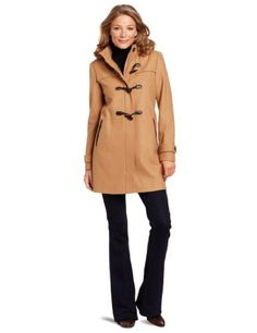 Tommy Hilfiger Women's Hooded Toggle Coat....