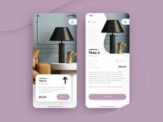 A list of top User Inteface (UI) and User Experience (UX) Design Works for Inspiration . Mobile app interfaces and Web design works. Mobile Ui Design, Interaktives Design, App Ui Design, User Interface Design, Design Concepts, Design Layouts, Flat Design, Sketch Design, Interior Design