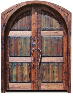 Doortec Garage Doors - Western Decor, Handmade Solid Wood Doors and Furniture Pieces based on western influences and Southwest decor.