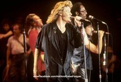 Daryl Hall,  photo from 1985  Like this photo? Please join my FB page to see more!  www.facebook.com/HallAndOatesForever