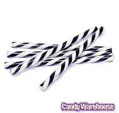 Just found Black & White Peppermint Hard Candy Sticks: 100-Piece Box @CandyWarehouse, Thanks for the #CandyAssist!