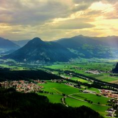 Missing the beautiful scenery in Austria, Tirol.