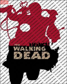 (4) Name: 'Crocheting : The Walking Dead Daryl graph